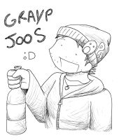 GRAYP JOOS by Ilovetodraw