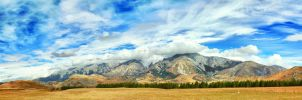 Mountain panorama by MotHaiBaPhoto