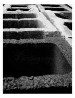 Cement Blocks One by DayDreamsPhotography