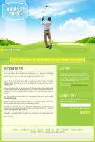 Golf Website Layout by Nas-wd