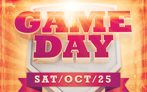 Game Day Event Flyer Template by loswl