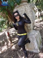 Julie Newmar 's Catwoman cosplay by Carollinae