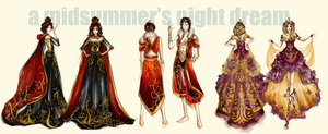 A Midsummer's Night Dream goes Baroque by chiaroscuro8
