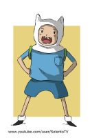 Finn from Adventure Time by Carlos-MP