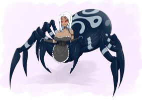 Commission - Spider Maid Cara by dragonmanX
