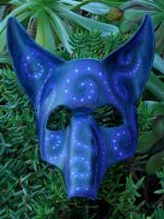 Na'vi Fox mask by LadyAkeldama