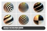 Abstract Pattern Sphere Renders by deiby
