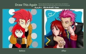 Draw this again: you are mine by Aosuka