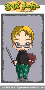 New chibi me by Dream1Fire