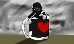In Zee Mug - Wallpaper by Geli-K