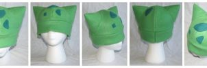 Bulbasaur Pokemon Hat by cutekick
