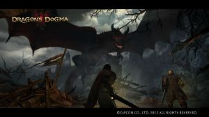 Dragon's Dogma Red Wyrm Screenshot 1 by LilyuKitty1-18-21