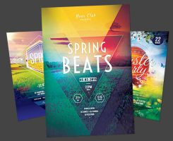 Spring Flyer Bundle by styleWish