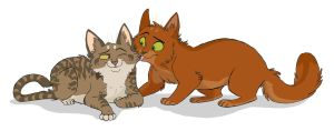 Sisterly Love - LxS by Graystripe64