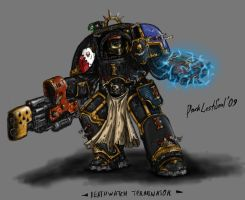 Deathwatch Terminator by DarkLostSoul86
