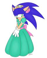 Polls Picture: Sonic in Dress by AnyalLyn