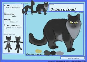 (TcotV) .: Umbercloud ref sheet NEW :. by TheClansOf-TheValley