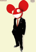 Deadmau5 by u7arts