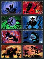 Space Opera cards by Lipatov