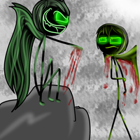 Now You See  by Demonic-stickfigures