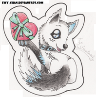 Giftie - for TehSweetheart SCANNED VER. by Ewy-chan
