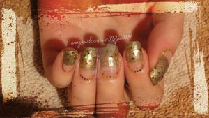 31 Day Challenge - Metallic Nails by Danijella