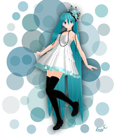 MMD - Camelia Miku by Ina-C