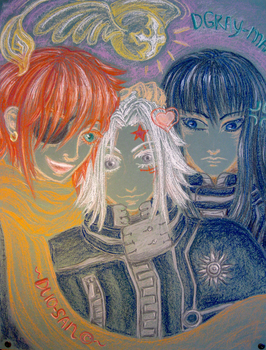 D.Gray-Man by Duo-san