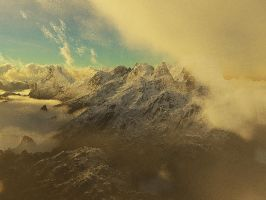 Misty mountains by vissroid