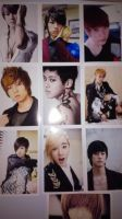 U-Kiss Photocards by SungminHiroto