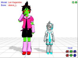 MMD - ZIM and GIR by Dante6499