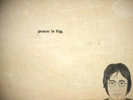 Peace Is Big by itsyouforme