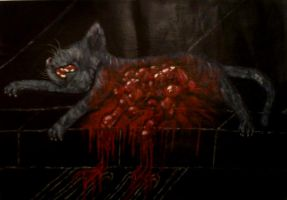 """Dream of Cannibalistic Cats"" by OverlordMortiroth"