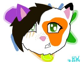 My Official OC by HotpokitTheCat