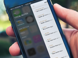 Notes iOS7 (wip) by OtherPlanet