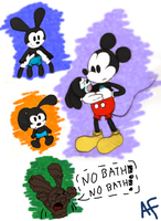 Baby Oswald Doodles by Aqua-Melody101