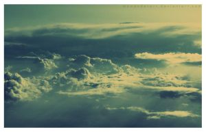 Plane Evening View by mywonderart