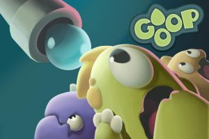 Goop - game splash screen by neofotistou
