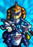 Street Sharks by Phobos-Romulus