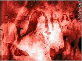 lacuna coil wallpaper by GingerSnapsBack
