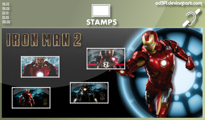 Stamps - 2010 - Iron Man 2 by od3f1