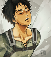 SNK Scene Redraw: Out of the Titan by Bev-Nap