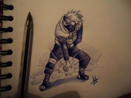 Chidori!  (Only BIC Blue) by naldojunio