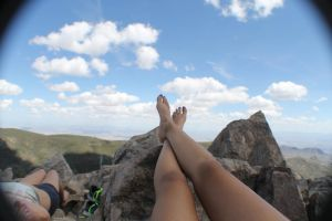 Resting at the peak by MariaDmtz