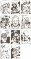 Star Wars Masterwork Sketchcards 3 by ElfSong-Mat