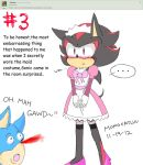 Ask Shadz #3 :Maid Shadow: by Momocatluv