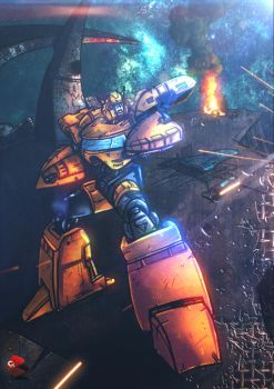 Transformers Bumblebee by commanderlewis