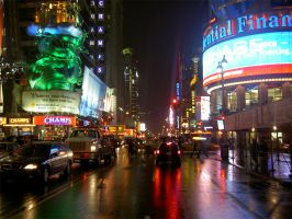 Times Square NYC by Meggys
