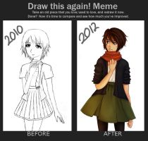 Meme: Before and After by emmzx