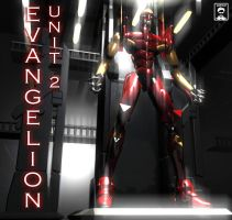 Evangelion Unit 02 by ssejllenrad2